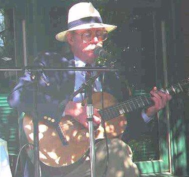with Martin guitar